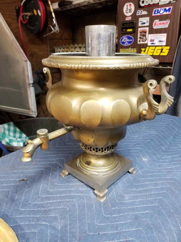 Before-Antique Lamp